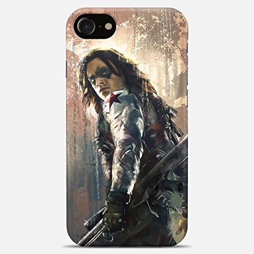 Winter soldier phone case Winter soldier iPhone case 7 plus X 8 6 6s 5 5s se Winter soldier Samsung galaxy case s9 s9 Plus note 8 s8 s7 edge s6 s5 s4 note gift art cover