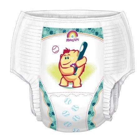 Curity™ Runarounds® Training Pants - Case/76 (Boys XL (> 38 ()