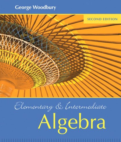 Elementary and Intermediate Algebra Value Package (includes MathXL 12-month Student Access Kit) (2nd Edition)
