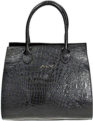 Nuevo Estilo De La Moda De Profesional De La Venta Barata Borsa Verticale Donna Nero Alviero Martini Vertical Bag Woman Black iremt
