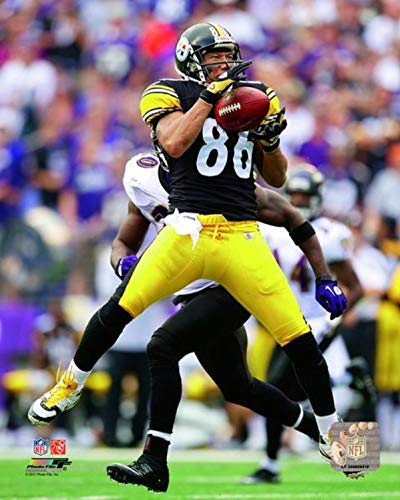"""Hines Ward Pittsburgh Steelers Action Photo (Size: 8"""" x 10"""")"""