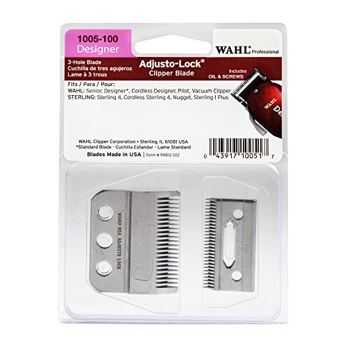 Adjusto Lock (WAHL 3 Hole Adjusto-Lock Clipper Blade CL-1005-100)