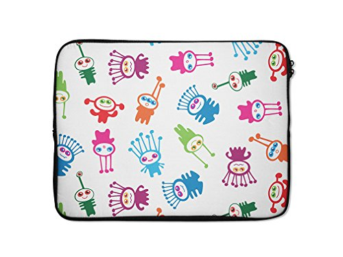 Style in Print Cute Baby Aliens Computer Laptop Ipad Slee...