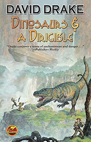 book cover of Dinosaurs & A Dirigible