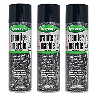 Sprayway SW702R 20 Oz Aerosol Granite & Marble Spray