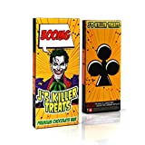EMPTY J's Killer Treats Chocolate Display Boxes for Edibles by Shatter Labels & Mama Ganja EB-037 (20)