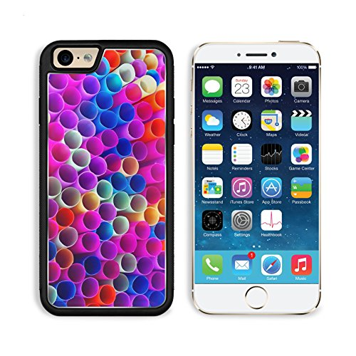 Apple iPhone 6 6S Aluminum Case Colorful drinking straws IMAGE 28819618 by MSD Customized Premium Deluxe Pu Leather generation Accessories HD Wifi Luxury Protector
