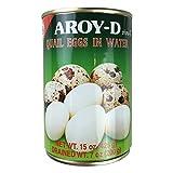 ROM AMERICA Aroy-D Quail Eggs in water 메추리알