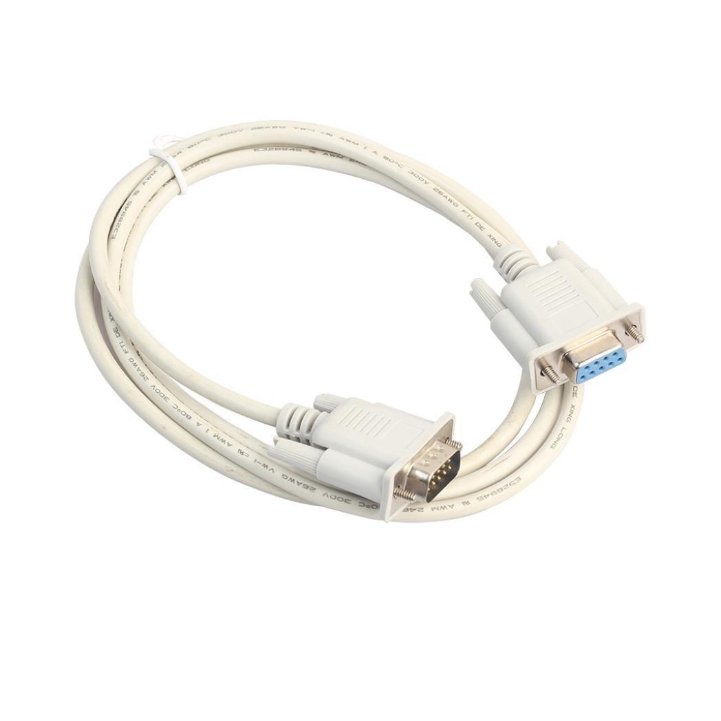 Supports hkfv 1,5/3/5m USB vers Série RS232Adaptateur convertisseur USB série Câble USB série DB9mâle vers A mâle Contacts Pour stable Connexion Converter Extension Cable