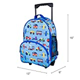 Wildkin Rolling Backpack, Olive Kids by Rolling