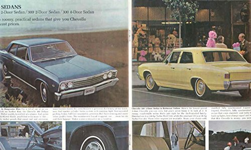 1967 Chevrolet Chevelle Malibu Sales Brochure