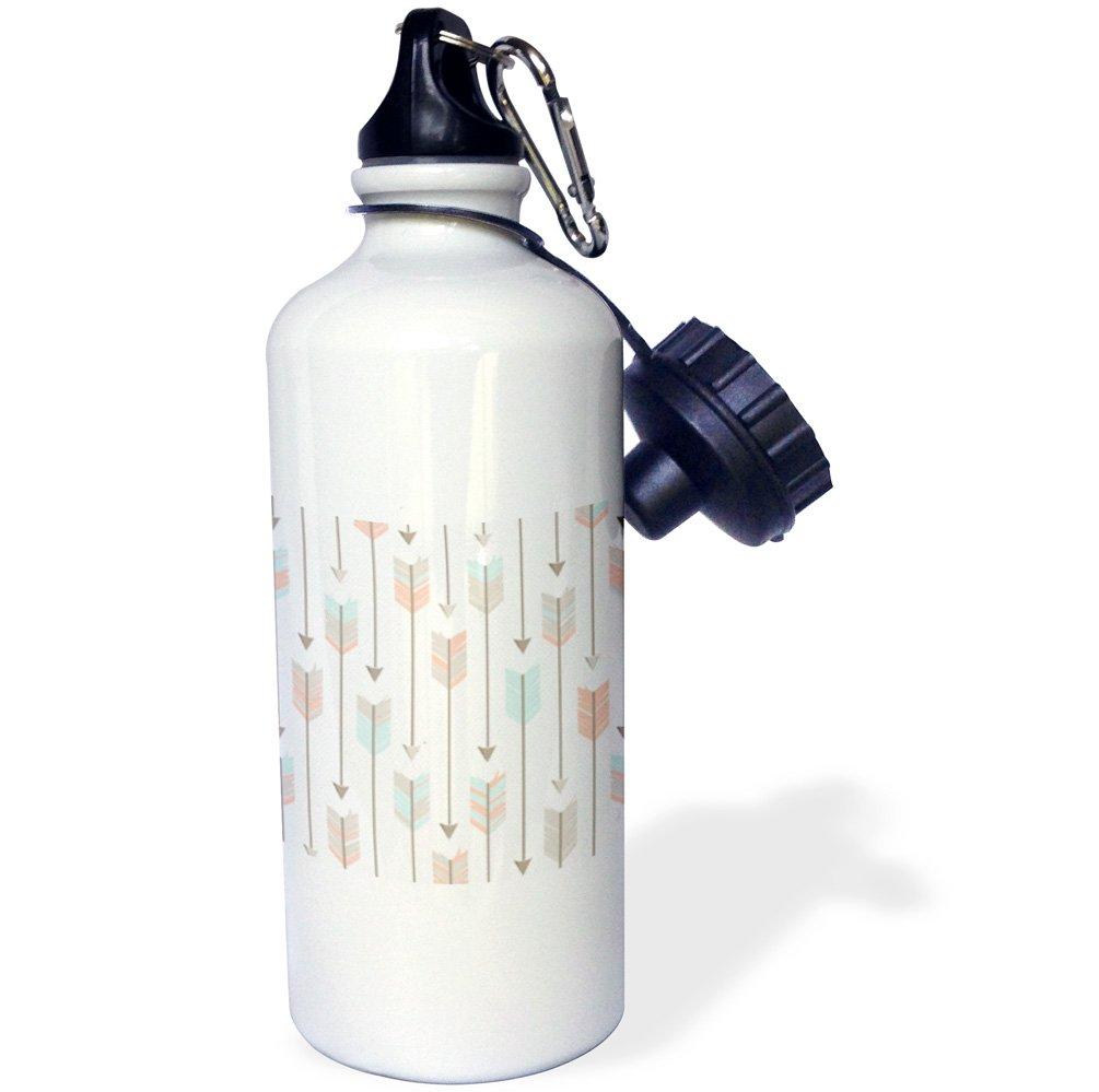wb/_214555/_1 3dRose Tribal Arrows Pattern-Sports Water Bottle 21 oz Multicolor 21oz
