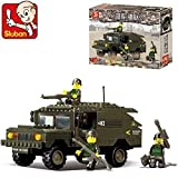 Sluban Building Block Military Humvee Hummer Star Wars Toys B9900 191 Pieces