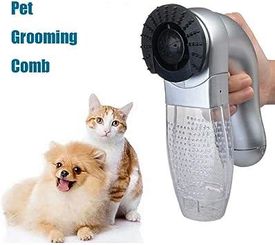 W2e1a Limpiador eléctrico portátil para Mascotas, Peine, Perro ...