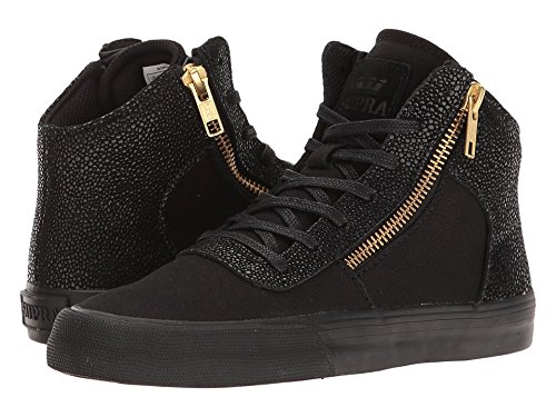 Supra Womens Cuttler Black Shoes Size 7
