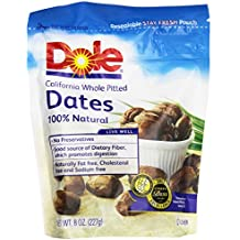 Dole Dates, Pitted, 8 oz