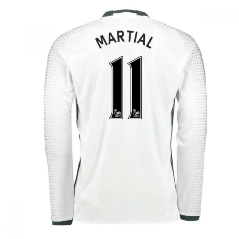 cc1095167 2016-17 Man United Third Football Soccer T-Shirt Camiseta (Anthony Martial  11)  Amazon.es  Deportes y aire libre