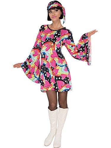 Rubie's Costume Co Women's Go Girl, Multicolor, Large ()