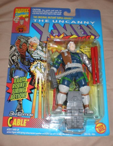 The Uncanny X-Men Cable 3rd Edition Figure With Rapid Rocket Firing (3rd Cable)