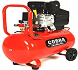 COBRA AIR TOOLS 50L LITRE AIR COMPRESSOR 9.5 CFM 2.5HP 230V 115PSI 8...