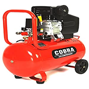 COBRA AIR TOOLS 50L LITRE AIR COMPRESSOR 9.5 CFM 2.5HP 230V 115PSI 8 BAR POWERFUL