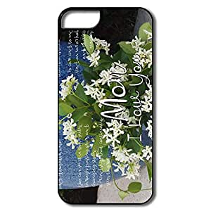 Custom Best Hard Plastic Dust Proof Happy Mothers Day 2014 Poems Iphone 5s Covers