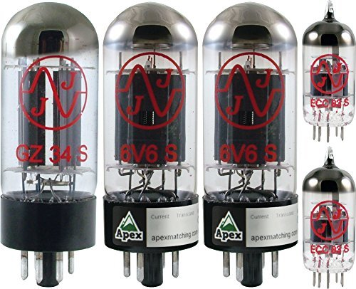 Vacuum Tube Set for Divided By 13 CJ 11, Apex Matched