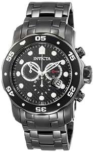 Invicta Caballero 0693 Pro Diver cron—grafo Gunmetal Stainless Steel Reloj