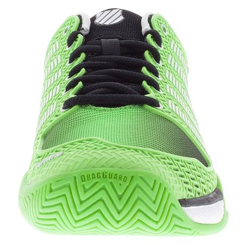 K-swiss Mens Hypercourt Express Flash Verde / Nero