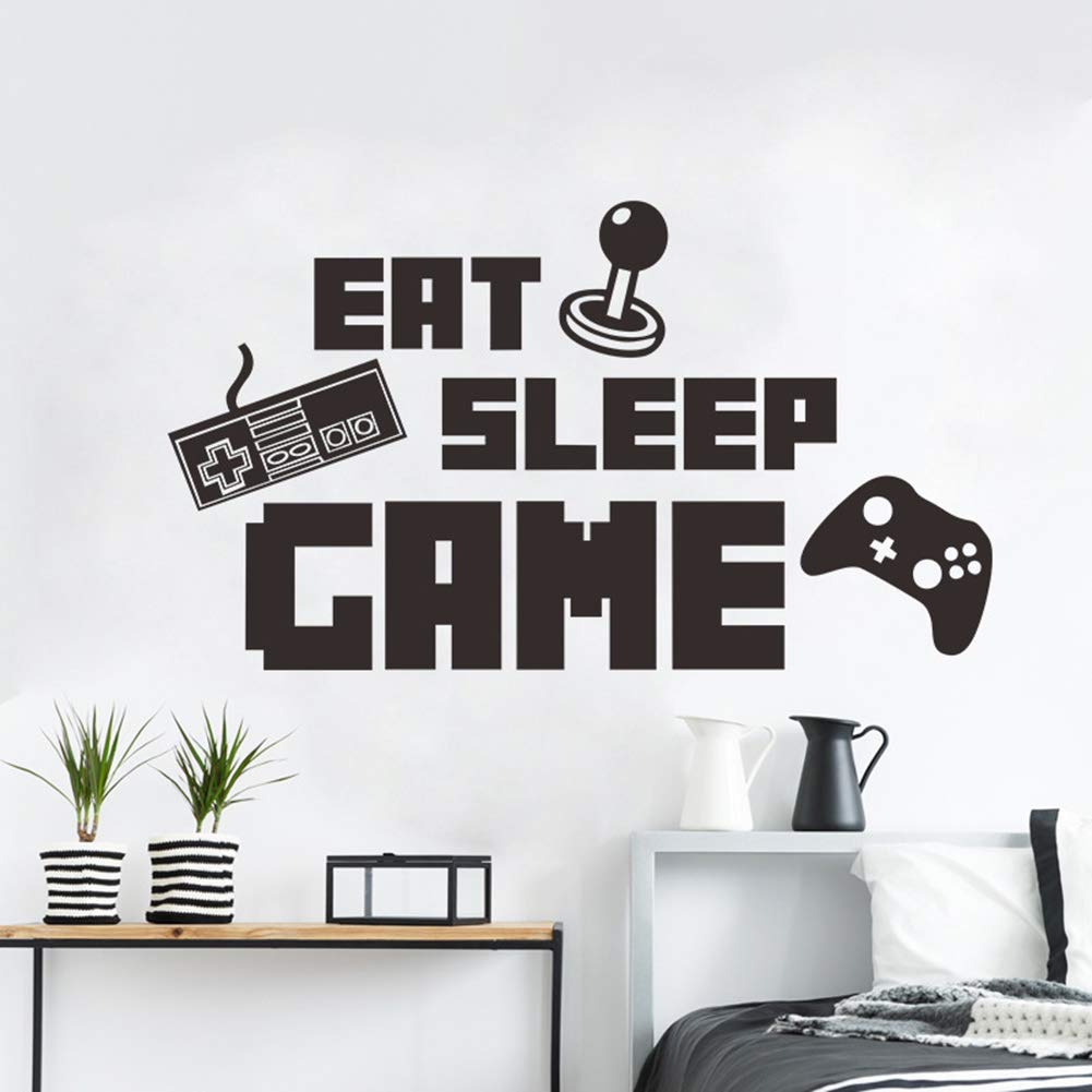 Fortnite Game Wall Sticker Decal Mural Name Art Stickers Room Bedroom Home Decor