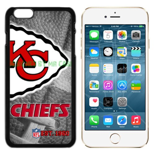 Chiefs KC Football New Black Apple iPhone 6S, 6 Case By Mr Case