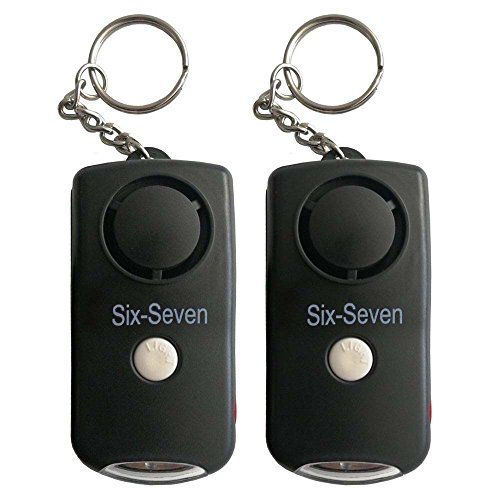Cheap Personal Alarm Keychain - 130dB Self Defense SOS Emergency Alarm,Security Self Defense Elect...
