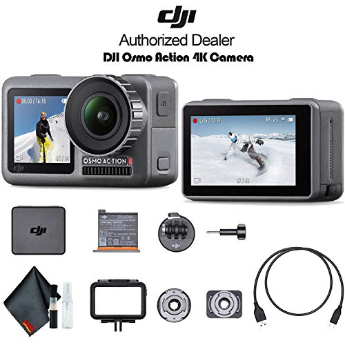 DJI Osmo Action 4K HDR Waterproof Dual Screen Camera - Base Kit