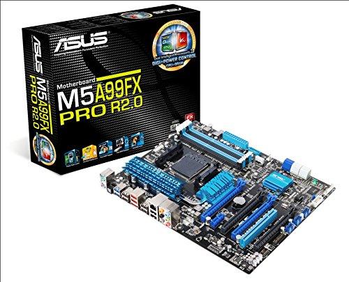 22 opinioni per Asus M5A99FX PRO R2.0 Scheda Madre, AMD 990FX, DDR3-SDRAM