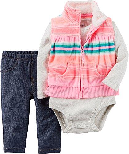 Carters Piece Floral Vest Baby
