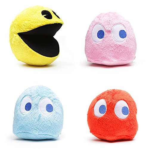 pac-man-6-plush-set-of-4-with-sound