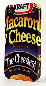 Kraft Macaroni & Cheese Box Dimensional Case Fits iPhone 4 or iPhone 4s