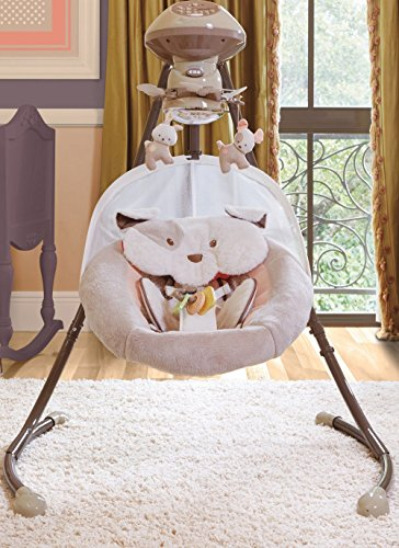fisher price my little snugapuppy cradle n swing manual