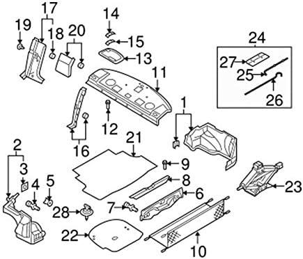 Zirgo 318198 Heat /& Sound Deadener for 74-85 Pontiac Master Stg2 Kit