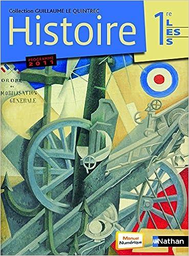 En ligne Histoire 1re L-ES - G. Le Quintrec pdf ebook