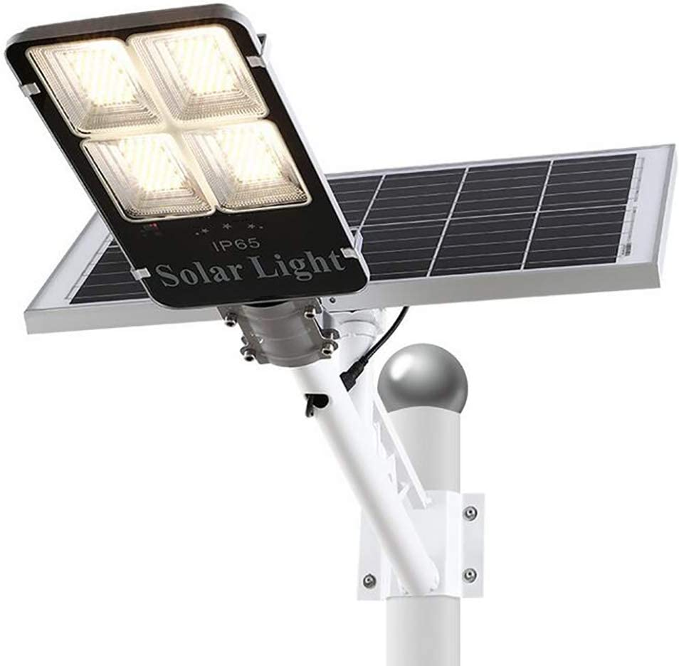 SOLIGHTS Luz Solar Farola Exterior 200W/300W Impermeable IP65 LED Lámparas Solares con Sensor Crepuscular Y Soporte Y Control Remoto,para Calle Patio Jardín Luz del Inalámbricas,200W/14000lm: Amazon.es: Hogar