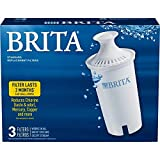 Brita Standard Pitcher Filters 3-Pack for Pitcher Replacement Filter: more info