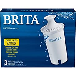 Brita Standard Pitcher Filters 3-Pack fo...