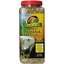 Zoo Med Natural Iguana Food Formula, 20-Ounce, Adult