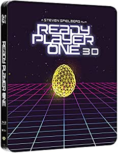 Ready Player One Blu-Ray 3d+2d Steelbook [Blu-ray]
