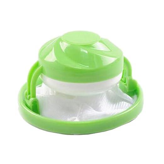 Filtro de pelo Net flower-type lavadora flotante bola de ...