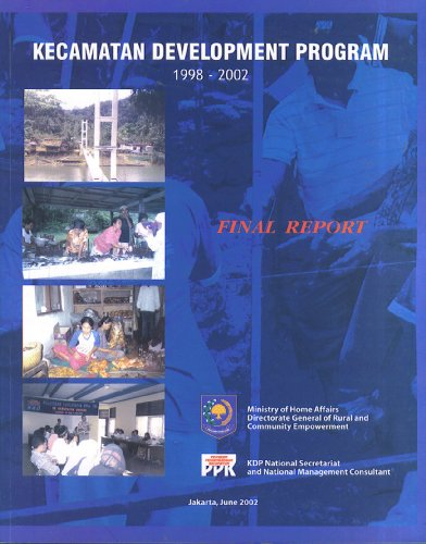 Kecamatan Development Report 1998 - 2002 Final Report