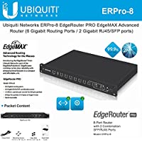 Ubiquiti Networks ERPro-8 EdgeRouter 8-Port Advanced Network Router