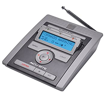 Acurite 08510otp Noaa Tabletop Weather Radio With S.a.m.e. 0
