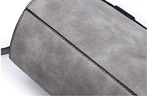Paquete pequeño de verano, mochila oblicua chica, la versión coreana de la pequeña y hermosa paquete de moda de la calle hombro fresco ( Color : Negro ) Negro